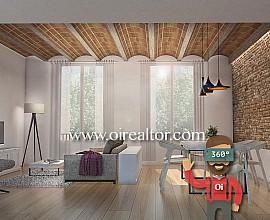 Appartement en vente à rénover avec beaucoup de potentiel et terrasse dans l'Eixample Dreta, Barcelone
