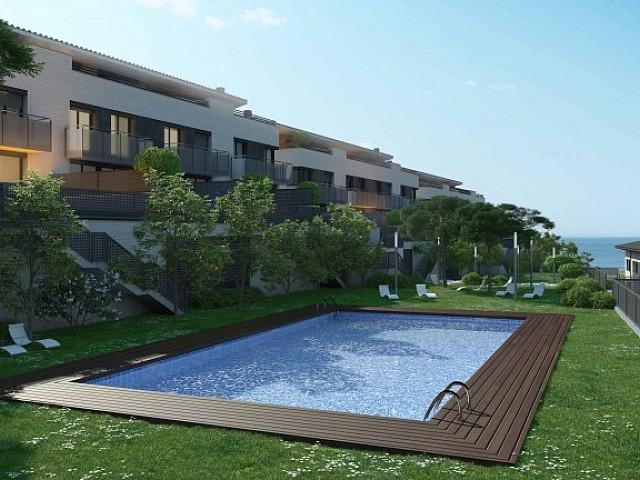 Fabulosa casa de nueva promoción con piscina comunitaria en Teià, Maresme