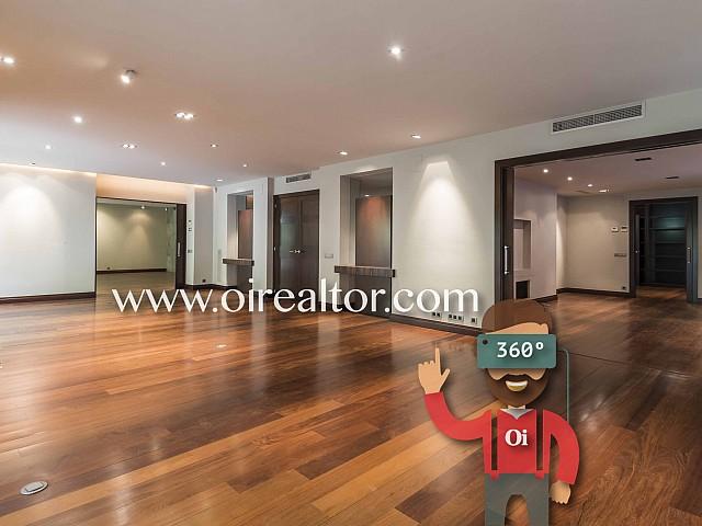 Appartement en vente rénové exclusif et unique de 530m2 vers le Turó Park