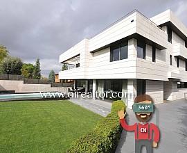 Exclusiva casa en venta con tecnología domótica en Valldoreix