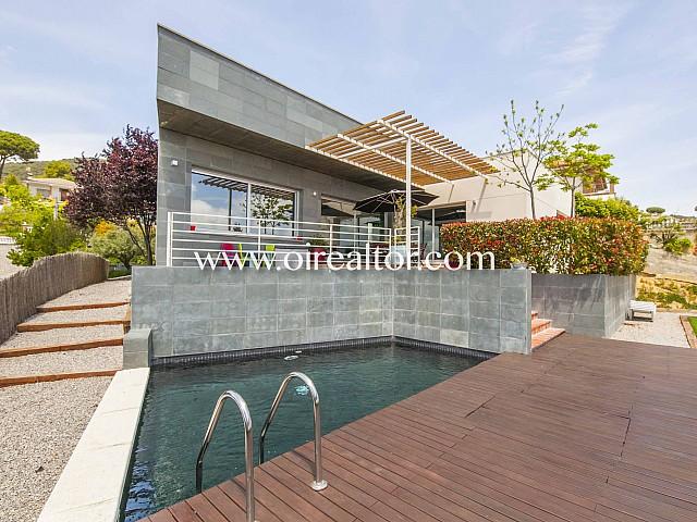 Продается дизайнерский дом в Сант Себрия де Виллалта