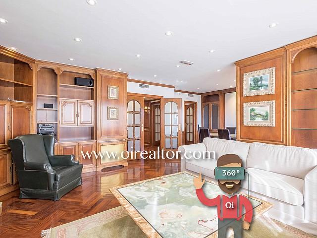 Exclusiva propiedad en venta con maravillosas vistas en Sarrià-Pedralbes