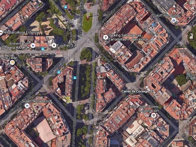 Solar urbanizable en venta en el Eixample Izquierdo de Barcelona