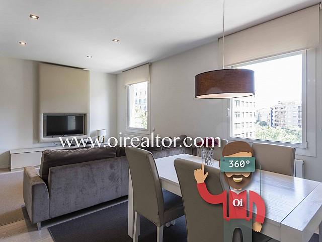 Apartamento de diseño en venta con licencia turística en Diagonal-Francesc Macià