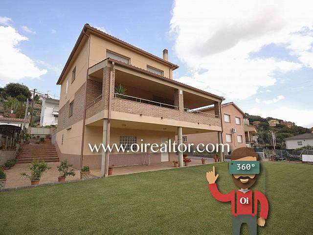 Vorzügliches Einfamilienhaus zum Verkauf mit Fenstern in alle vier Himmelsrichtungen in Sant Pere de Vilamajor, im Gebiet Montseny