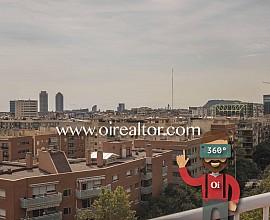 Продается пентхаус с красивыми видами в Барселоне, район Побленоу
