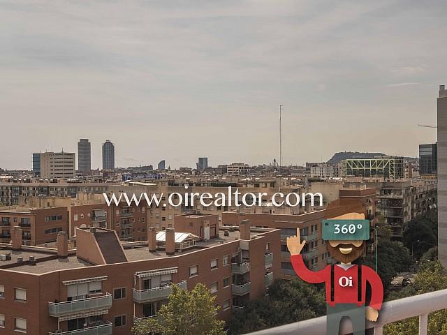 Ático en venta con espectaculares vistas en la Diagonal, Barcelona