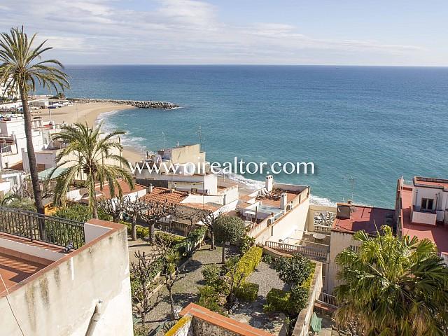 Preciosa casa en venta con vistas al mar en Sant Pol de Mar, Maresme