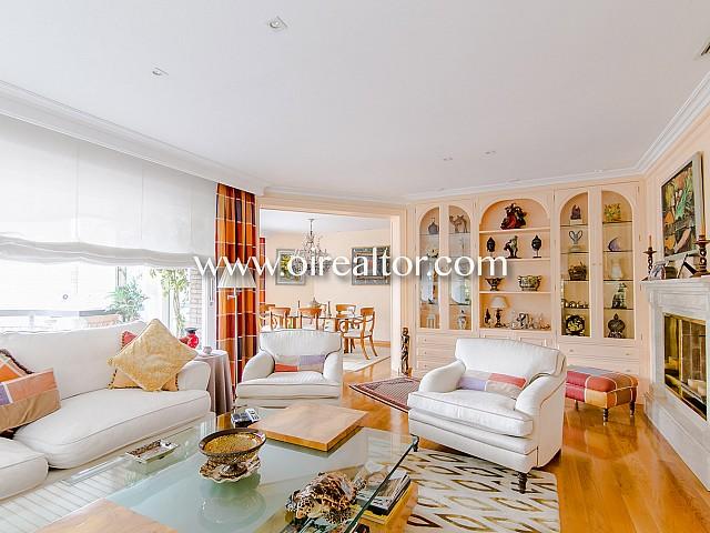 Luxuriöse Wohnung zum Verkauf im besten Viertel Les Tres Torres in Barcelona