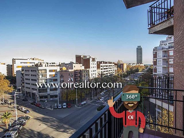 Wohnung zum Verkauf mit Blick aufs Meer in der Strasse Marina, Barcelona