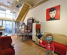 Atractiva casa en venda estil loft al centre de Badalona al costat del Carrer del Mar