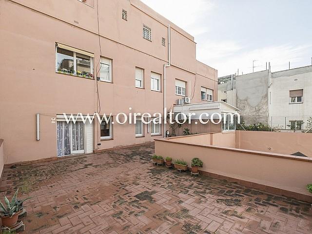 Herkunftswohnung zum Verkauf mit eine immensen Terrasse von 70 m2 in Galvany