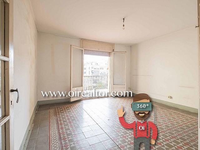 Fantastische Wohnung, um eine Reform auszuführen, zum Verkauf  in Paseo de Gracia, Barcelona