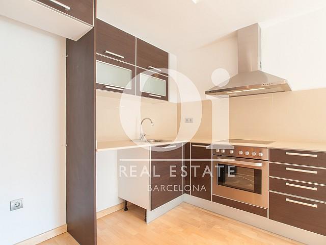 Küche in Luxus-Wohnung zur Miete im Raval für Erasmus-Studenten in Barcelona