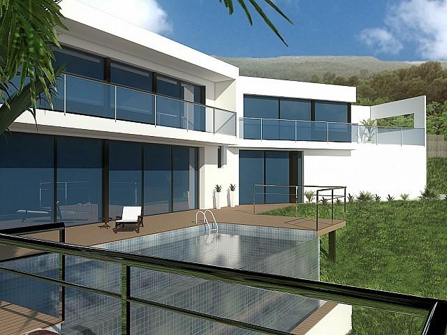 Продается земельный участок с проектом дома в Платча Д'аро, Коста Брава