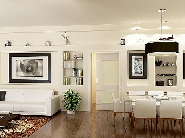 Продается квартира без ремонта в Саррья, Барселона