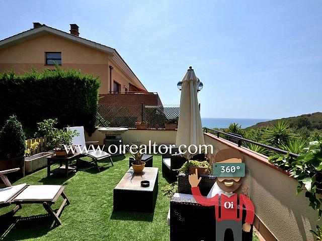 Casa adosada en venta muy soleada en el Maresme, Arenys de Mar