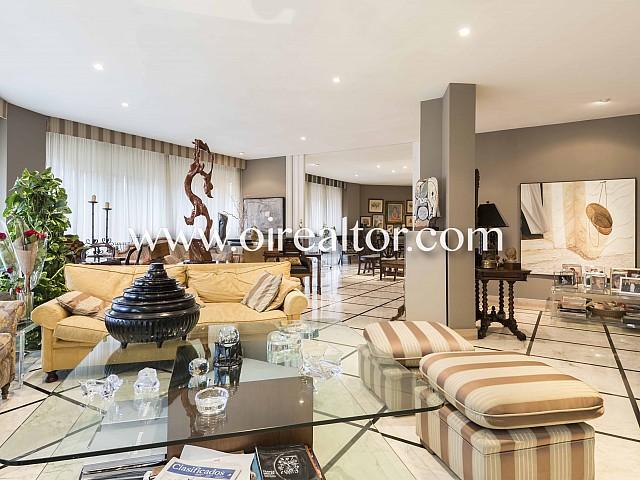 Extraordinario piso de 490 m2 en Sant Gervasi-Galvany en Barcelona