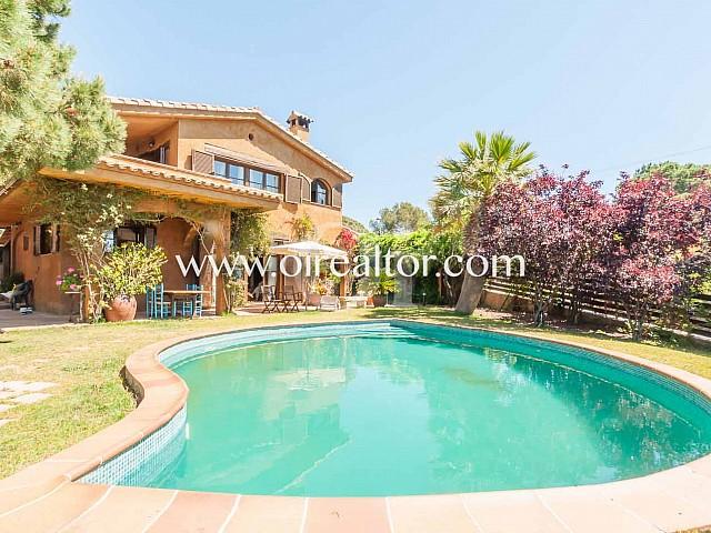 Preciosa casa estilo rústico en venta en Lloret de Mar, Costa Brava