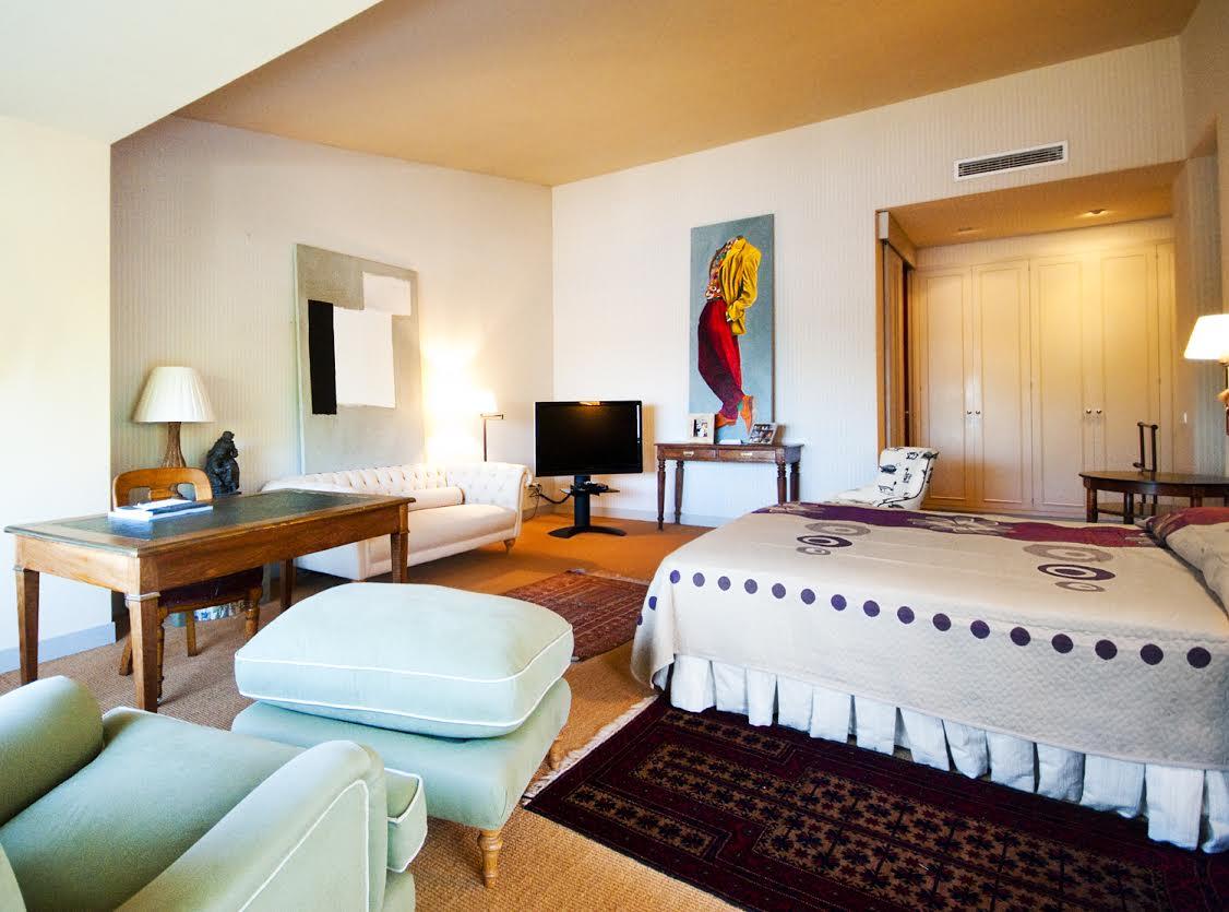 lumineuse double chambre de la luxueuse villa en vente Begur Costa Brava
