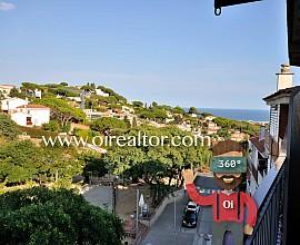 Flat for sale with excellent sea views in the center of Premià de Dalt, Maresme