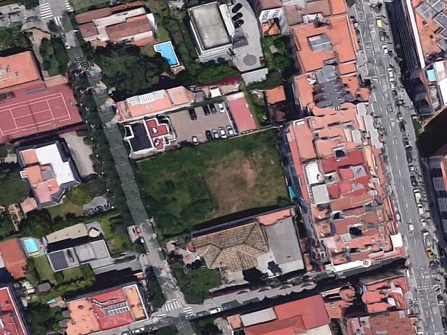 Plot in Barcelona's Zona Alta close to Avenida Tibidabo