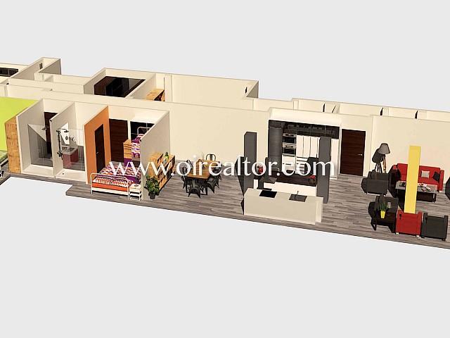 Local en venda tipus loft amb cèdula d'habitabilitat, 4 habitacions i reforma total a Sants