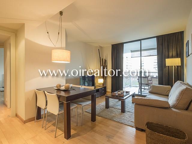 Excelente piso en alquiler a 200 metros de la playa en Diagonal Mar