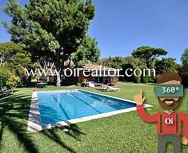 Preciosa casa en venta con vistas al mar en Sant Andreu de Llavaneres, Maresme