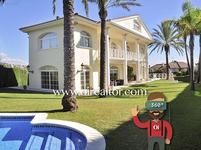 Exklusives Einfamilienhaus in der angesehenen Wohnanlage Can Teixidor, Alella