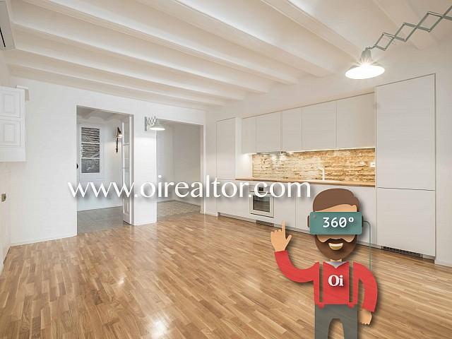 Alquiler de piso con reforma exquisita en el Gótico