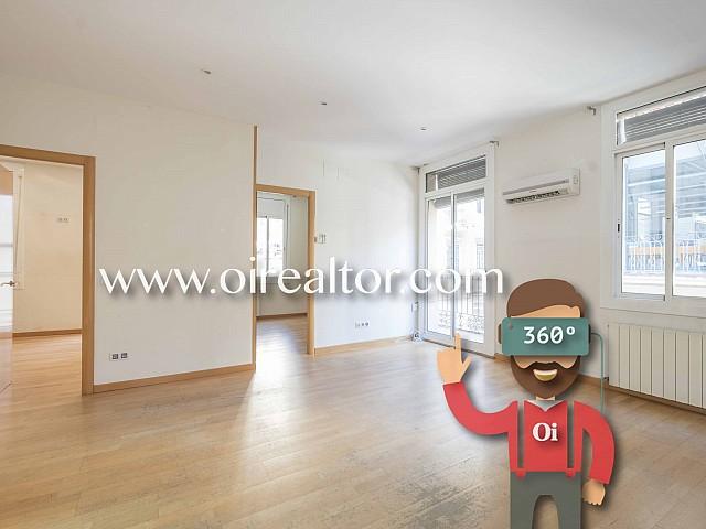 Продается светлая квартира с видом на море на Барселонете, Барселона
