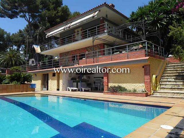 Magnífica casa en venta en la exclusiva urbanización Montemar en Castelldefels