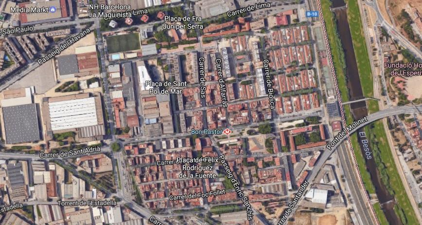 Solar residencial de m2 en sant andreu barcelona - Barrio de sant andreu ...