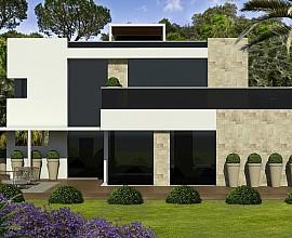 Продается земельный участок с проектом дома в Алелья, Маресме