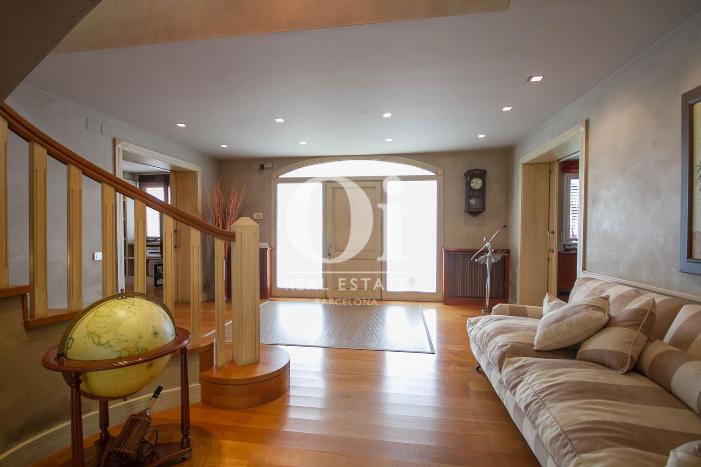 Wohnbereich im Luxus-Anwesen zum Kauf in Sitges bei Barcelona