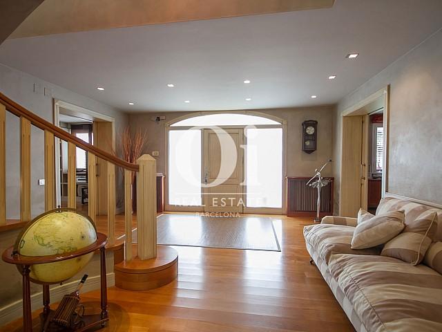 Sala de estar de casa en venta en Sitges