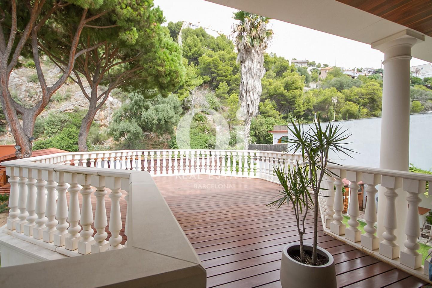 Terraza de casa en venta en Sitges