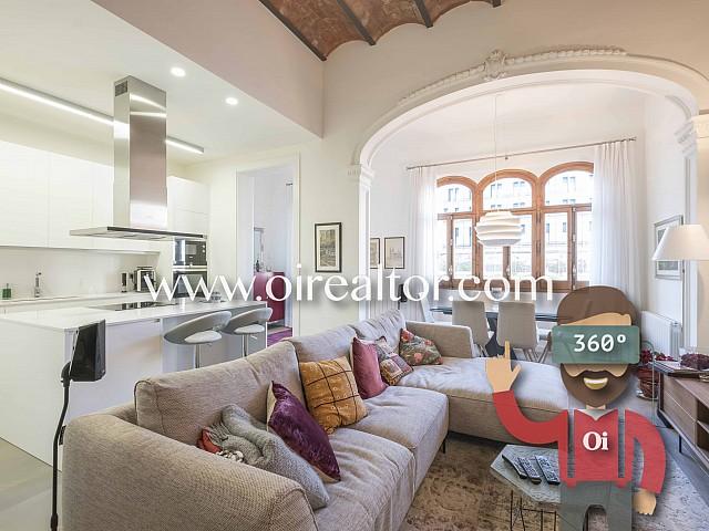 Espectacular piso en venta en el Eixample Derecho, Barcelona