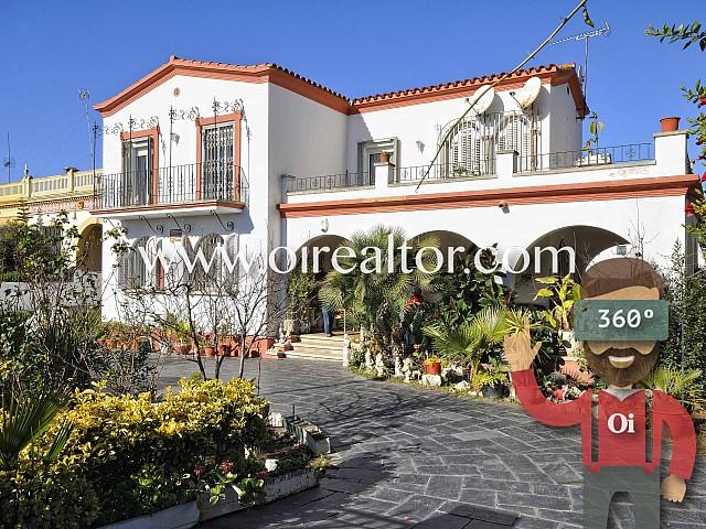 Cozy house for sale with sea views in Vilassar de Mar, Maresme