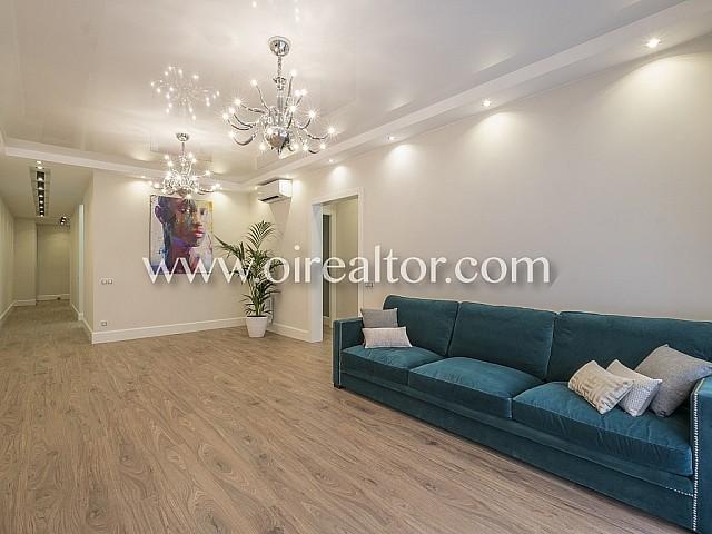 Exclusivo piso en venta con bonita reforma en Eixample Dreta