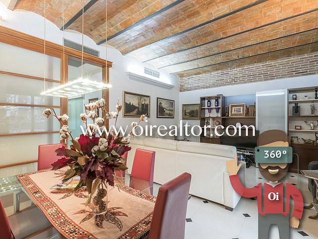 Amplio y cómodo piso en venta con soleada terraza de 56 m2 en la Dreta del Eixample