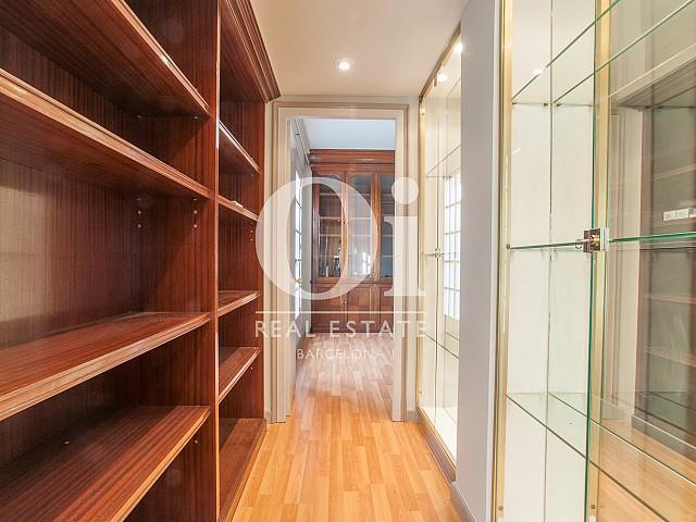 Wohnbereich in Luxus-Penthouse zur Miete im Eixample Esquerra in Barcelona