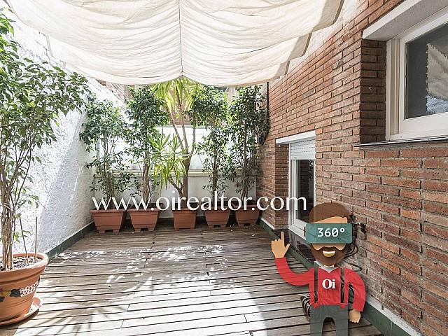 Apartamento en venta con reforma integral y terraza de 12 m2 en Gracia, Barcelona