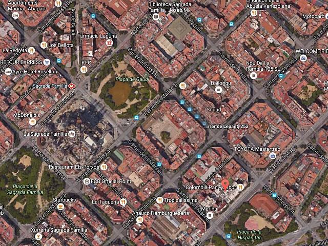 Solar en venta en zona turística de Sagrada Familia, Barcelona
