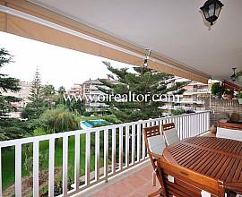 Estupend apartament a 300 metres de la platja i amb vistes al mar a Vilassar de Mar