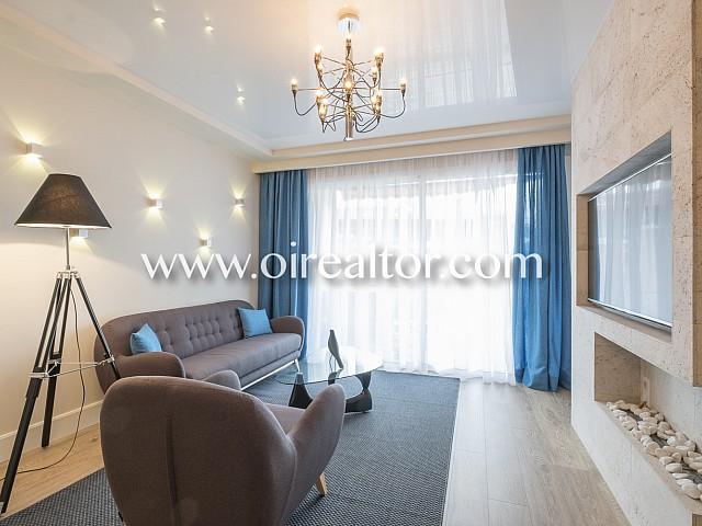 Exclusivo piso en venta de 130m2 en Barcelona
